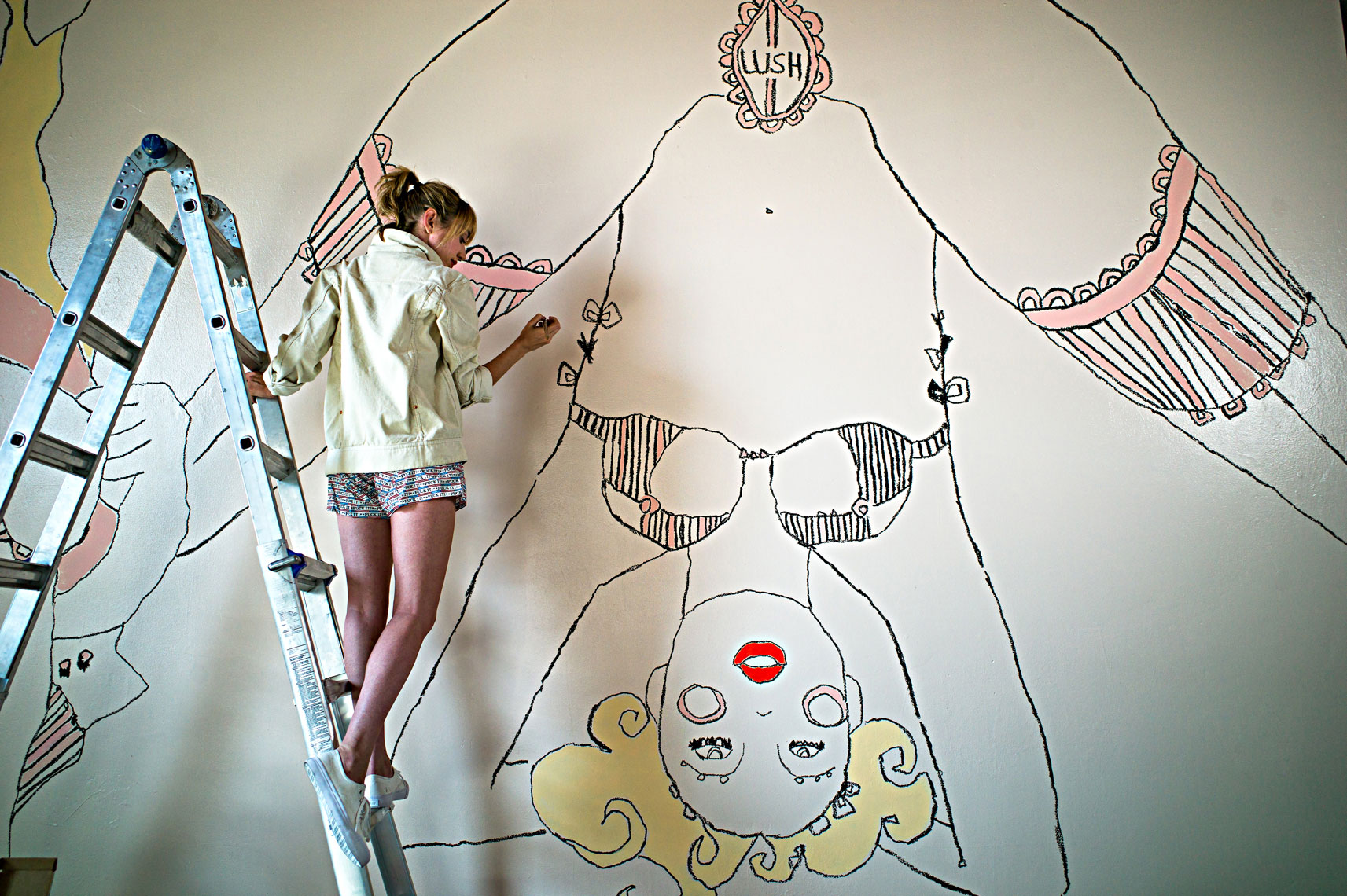 Natalie Krim, artist, Boyle Heights, California